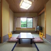 和室6畳(イメージ) 1名〜2名には快適な客室ですよ。一人旅の方でも安心してご宿泊できます!