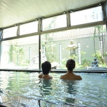 貸切温泉 大浴場1