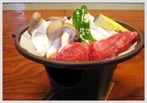 お食事:牛カルビ