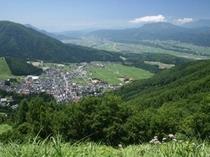 夏の野沢温泉
