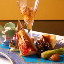 四季を彩る旬の一品料理をご一緒に。