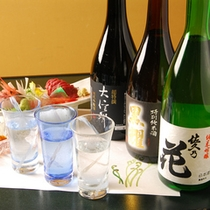 当館で愉しめる3銘柄の地酒。別所温泉で地酒めぐり企画!【真田幸村とほろ酔い十勇士】
