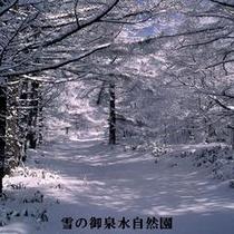 雪の御泉水
