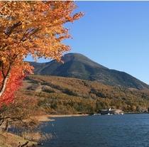 秋の女神湖2