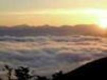 峰の原からの夕焼け