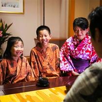 """【ファミリープラン】家族で語らう""""大切な時間""""をお過ごしください♪"""
