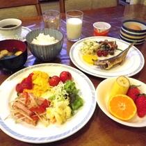 *朝食バイキング一例
