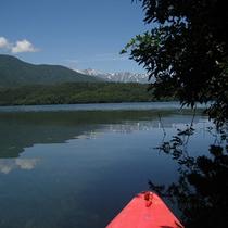 青木湖カヌー・カヤック