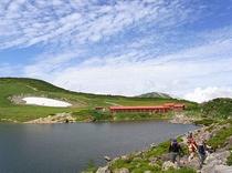 自然園から白馬大池まで約3時間の登山