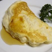 スフレオムレツ 朝食の卵料理の一例