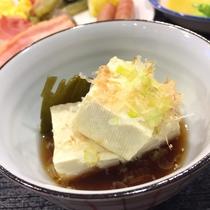 道産大豆の湯豆腐