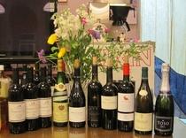 ワインの夕べで飲んだワイン達です。