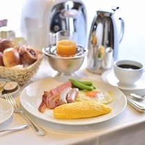 ルームサービス「朝食」