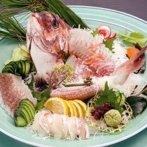 【お祝いプラン】 鯛の姿造り