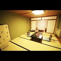 14畳和室 ファミリーやグループに大人気のお部屋です!