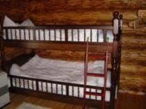ログハウス2段ベッド