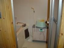 ログ 浴室