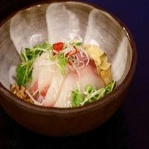 白身魚のヌーベルシノワ~中華風の味わいです(秋~春のメニュー)