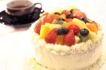 フルーツケーキ