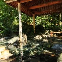 ☆広々とした露天風呂は大好評です。