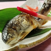 ☆岩魚の塩焼き