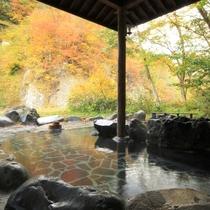 ☆開放感抜群の露天風呂