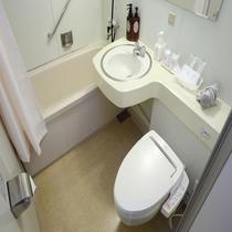 スタンダードルーム コーナーツインの浴室