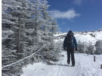 北横岳 冬山登山