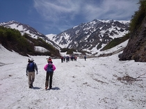白馬大雪渓トレッキング