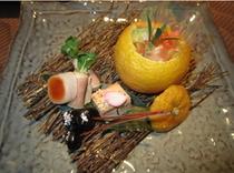 冬の前菜・1例
