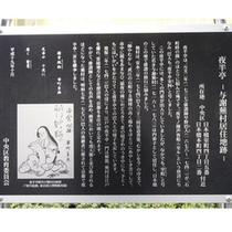 与謝蕪村の歴史碑文