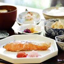 朝食の一例【和定食】