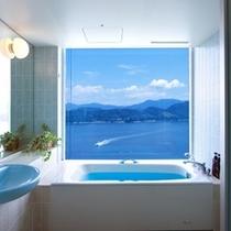 53平米のお部屋にご用意!バスルームから景色を楽しめるビューバス ※写真はイメージ(パノラ