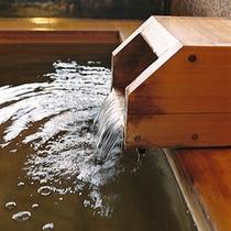 ■貸切風呂湯口