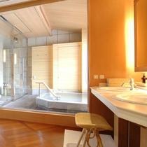 ■露天風呂付客室「福寿」