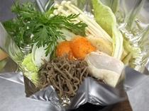 ヒジキ麺のヘルシー鍋