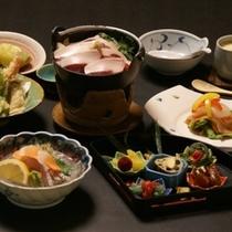 夕食料理例(写真はイメージです)