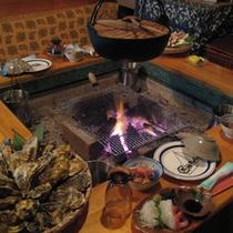 囲炉裏(冬季限定)