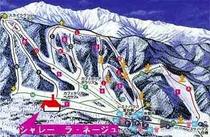 宝台樹スキー場ガイドマップ