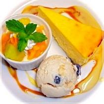 デザート三種盛り2