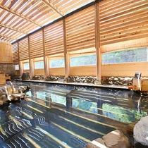 湯仙峡(リニューアル館) 温泉大浴場