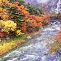 那須塩原の風景(福渡橋)