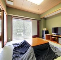 和室(10畳+6畳)