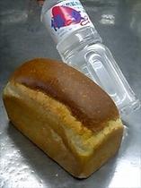 当館源泉で作った湯ごねパン