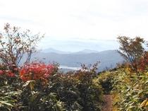 秋、山、紅葉-3