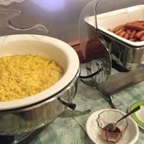 *朝食ビュッフェバイキング (洋食コーナー)