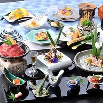 奥飛騨の膳「花」料理