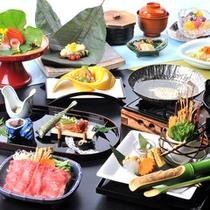 飛騨牛付和食会席  平湯の膳「月」料理