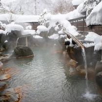 冬の大露天「山伏の湯」