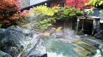 紅葉の温泉2